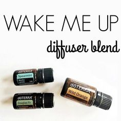 Need a Monday morning boost? This diffuser blend smells AMAZING!! Combine Spearmint, Douglas Fir, and Wild Orange!