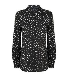 Armani Jeans Polka Dot Print Collar Shirt available to buy at Harrods. Shop Armani Jeans womenswear online and earn Rewards points.