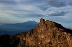 Pico de Orizaba desde El cofre de Perote Veracruz, México