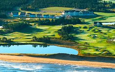 PEI Hotel - The 5-star Rodd Crowbush Golf & Beach Resort in Morell, PEI. Prince Edward Island, Small Island, Canada Travel, Summer Travel, Beach Resorts, Golf Courses, Hotels, Around The Worlds, River