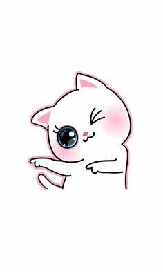 66 Ideas For Cats Cute Wallpaper Kawaii Cartoon Wallpaper Iphone, Cute Disney Wallpaper, Cat Wallpaper, Kawaii Wallpaper, Cute Wallpaper Backgrounds, Cute Cartoon Wallpapers, Iphone Wallpapers, Kawaii Drawings, Cartoon Drawings