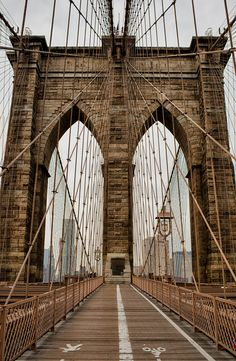 Amazing Places           - about-usa:    	Brooklyn Bridge - New York City -...
