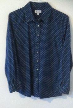 Woman Shirt Size M By d & co #dco #ButtonDownShirt #Casual
