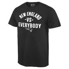 Fanatics New England vs.Everybody Tee-Black