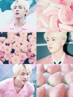 Where has this been all my life? Namjoon, Taehyung, Seokjin, Bts Jin, Bts Bangtan Boy, Jimin, Aesthetic Collage, Kpop Aesthetic, Pink Aesthetic