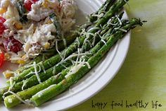 Parmesan Asparagus - I will never make it another way.  Even my 5 year old loves this!!