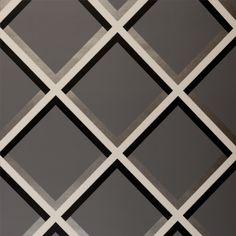 Pergola Grid Slate Wallpaper - W0018/07