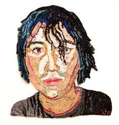 Plastic Andy Panda   Jo Hamilton Art