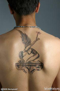 Angel tattoo