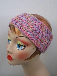 Balls to the Walls Knits: Heart Headband -free pattern