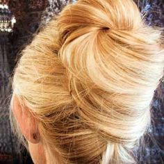 The French twist is good for all face shapes, since you can customize by adjusting hair volume to flatter face shape. Hairstyle How-To: Holiday Hair Bow Easy Updo Hairstyles, Holiday Hairstyles, Modern Hairstyles, Creative Hairstyles, Pretty Hairstyles, Evening Hairstyles, Wedding Hairstyles, Casual Updos For Long Hair, Very Long Hair