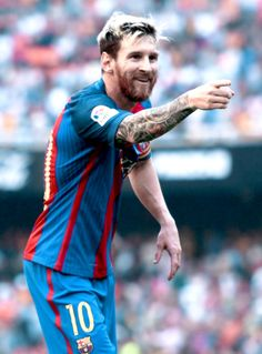 Is this who Messi plays for?