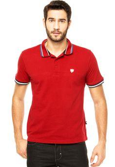 01d423ef6 Camisa Polo Cavalera Vinho - Compre Agora | Dafiti Brasil Vinho, Homens,  Brasil,