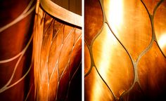 This isn't your average student bar, and these aren't your average students. For a new collaboration with Ketel One Vodka for the late Lee Alexander McQueen's Sarabande educational foundation, Tord Boontje has created a futuristic copper installation o...