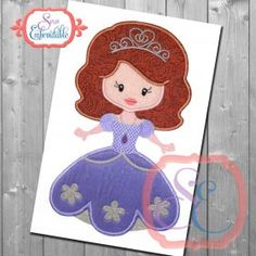 Little Princess 14 Applique