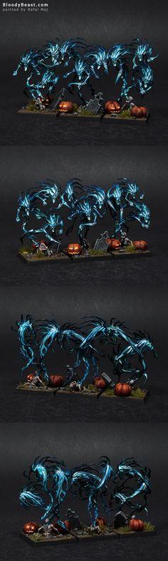 Halloween Spirit Hosts (with Pumpkins)