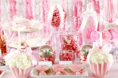 love this for a sweet shoppe birthday party for a little girl