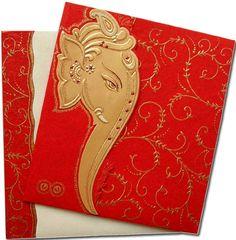Buy Hindu Wedding Cards, Hindu Wedding Invitations, wedding accessories and wedding favor from our online wedding invitations catalog on affordable prices.: http://www.dreamweddingcard.com/