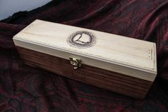Wands by Larsen Woodburned wand box by WandsbyLarsen on Etsy