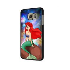 Ariel Little Mermaid Galaxy Nebula Moon Sunset iPhone 6 Plus Case Samsung Galaxy S6, Galaxy S5 Case, Galaxy Note, Ipod Touch 6 Cases, Ipod Touch 6th, Iphone 6 Plus Case, Iphone Cases, Iphone 7, Sony