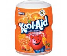 Kool-Aid Orange g) Kid Drinks, Beverages, American Drinks, Fanta Can, Hazelnut Spread, In Case Of Emergency, Mixed Berries, Kool Aid, Candy Store