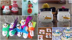 10 Simple Snowman Crafts | ModernMom.com