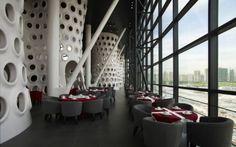 honey comb restaurant, SAKO Architects