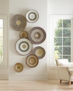 Six Home Decor Trends to Watch in 2020 - A favorite decorating trend of 2020 is woven home decor like rattan and cane furniture & accessories! Home Decor Trends, Diy Home Decor, Decor Ideas, Room Ideas, Wall Decor Crafts, Natural Home Decor, Wall Decorations, Cane Furniture, Coaster Furniture