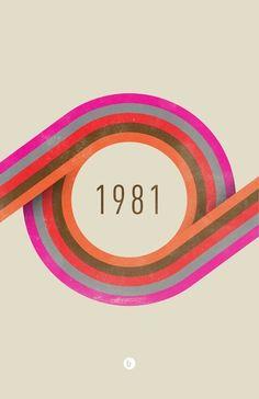 Posters - Ben Lalisan - 1981, circle design