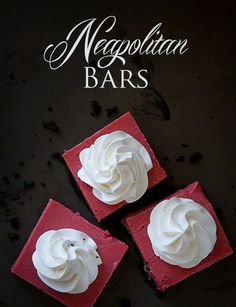Neapolitan Bars ~ http://iambaker.net