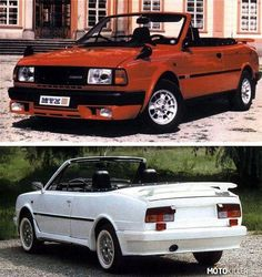 Skoda Rapid 130 Convertible (1984-1990) Convertible, Vw Group, Car Photos, Old Cars, Sport Cars, Cars And Motorcycles, Vintage Cars, Dream Cars, Volkswagen