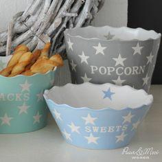 Sweets Kom Star Licht Blauw Pretty Pastel, Presents, Sweets, Cath Kidston, Pastels, Cake, Tableware, Green, Decor