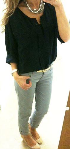 Workwear chic