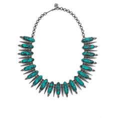 Kendra Scott 'Gwendolyn' Collar Necklace ($295) ❤ liked on Polyvore featuring jewelry, necklaces, 14k necklace, kendra scott, yellow necklace, 14k jewelry and kendra scott jewelry