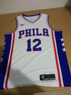 Men 12 T.J. McConnell Jersey White Philadelphia 76ers Jersey Fanatics. Ben  Simmons ... c33c39e20
