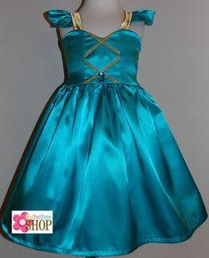 Jasmine Inspired Dress Custom Boutique Clothing Sassy by amacim Disney Princess Dresses, Princess Outfits, Disney Dresses, Disney Outfits, Kids Prom Dresses, Little Girl Dresses, Summer Dresses, Jasmine Dress, Frozen Costume