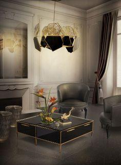 Design Inspiration – 17 Grautöne für Luxuriöse Innenräume
