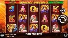Great Rhino Slot von Pragmatic Play im Test 2018 Free Slots, Slot Machine, Play, Arcade Game Machines, Photo Illustration, Arcade Machine