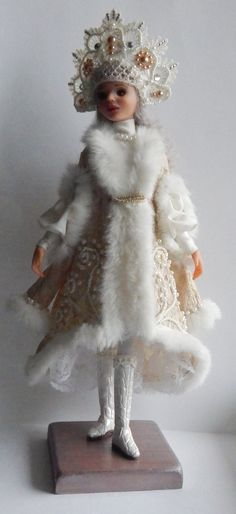 Ручная работа Авторская кукла Снегурочка