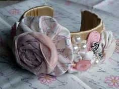 So Pretty In Pink Cuff Bracelet {Tutorial}