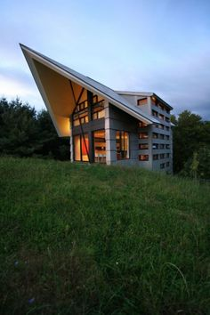 Modern House With Unusual Exterior