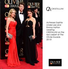 Actresses from Wicked UK: Sophie Linder-Lee and Emma Hatton wore on the red carpet magnificent CRISTALLINI evening gowns from our latest collection, at The Olivier Awards 2015 Gala, held at the Royal Opera House in London! #cristallini #springsummer #newcollection #famous #actresses #redcarpet #cristallinidresses #luxury #fashion #style #eveningstyle #eveningdresses #handcrafted #gowns #luxurystyle #luxurydresses #highfashion #instastyle #instafashion #bestoftheday #romaniandesigner
