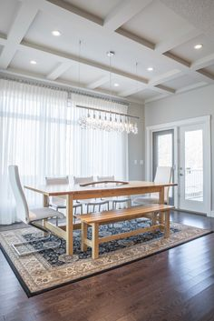 Spectacular New Design in Bearspaw Dining Rooms, Dining Bench, News Design, 30th, How To Memorize Things, Group, Luxury, Gallery, Furniture