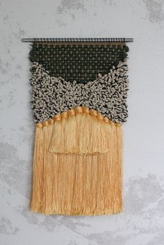 Shining Willow Weaving by All Roads. Raffia, cotton and silk. Part of the Santa Ana collection.