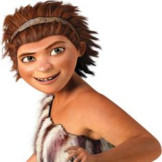 The Mom from the Croods