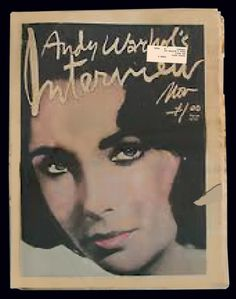 • LIZ , On Interview Magazine 1976 •  http://www.ebay.com/itm/Andy-Warhols-Interview-Volume-6-No-11-Liz-Taylor-November-1976-/130849786165?pt=Magazines=item1e77414935