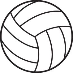 free volleyball clipart black and white Volleyball Clipart, Volleyball Cakes, Volleyball Workouts, Volleyball Players, Volleyball Party, Softball, Volleyball Locker Signs, Volleyball Locker Decorations, Volleyball Quotes