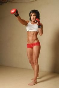 women with more athletic builds not beautiful? think again!....WOW! Amazing body!