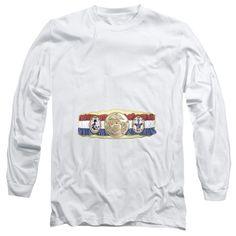 Adult Rocky/Championship Belt Long Sleeve