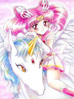 Mini Moon ☆ on Pinterest | Chibiusa And Helios, Sailor Moon and Chibi